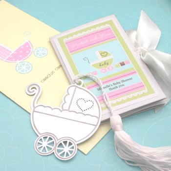 Baby Carriage Bookmark